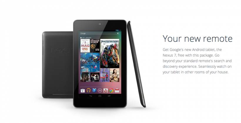 Nexus 7 gets spotlight in Google Fiber bid