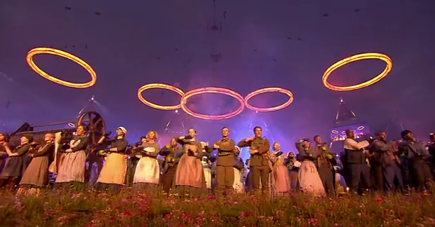 London 2012 Olympics opening ceremonies highlights videos go live