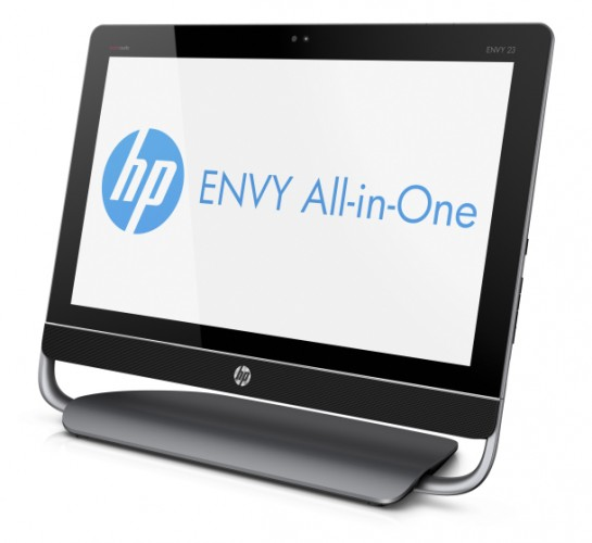 HP outs All-in-One PC quartet including sleek ENVY 23