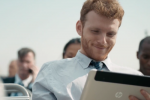 Mysterious HP tablet spied in new commercial