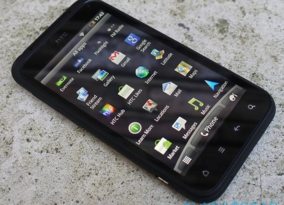 HTC Incredible S ICS update rolling out now