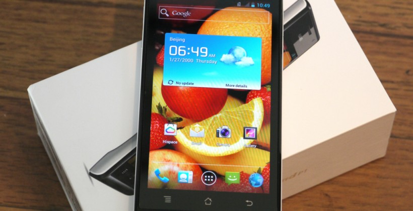 Huawei Ascend P1 hits UK in August at ZTE-spanking price