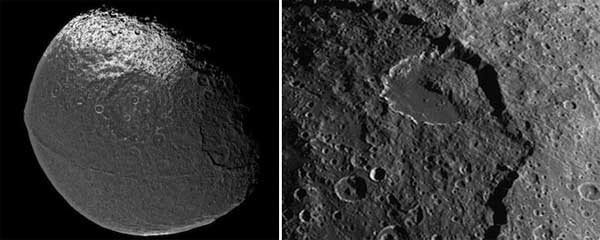 Saturn's moon Iapetus has mysterious giant ice avalanches