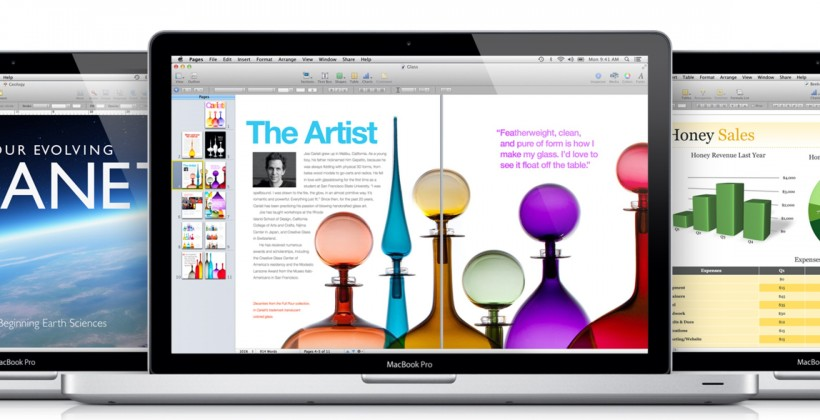 Apple iWork suite gets Retina and Mountain Lion refresh