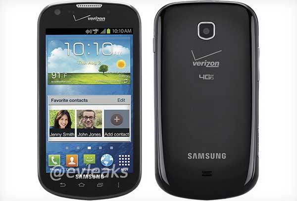 Samsung Jasper pic leaks in Verizon livery