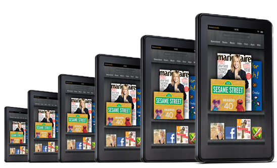 Amazon readying 5-6 new tablets says Staples exec