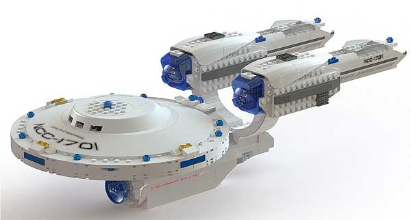 KRE-O to unveil licensed Star Trek building sets at Comic-Con