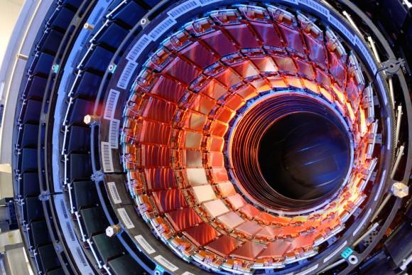"""God Particle"" shows itself: CERN spots Higgs boson"