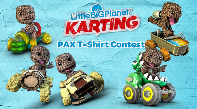 Sony Littlebigplanet Karting T Shirt Contest Announced Slashgear