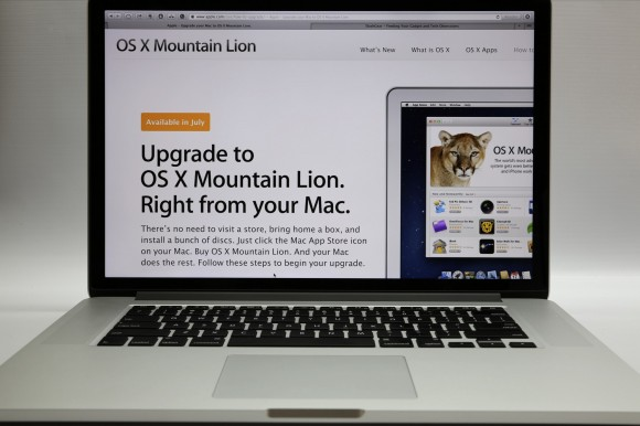 OS X Mountain Lion up-to-date program seeing early evolution pains