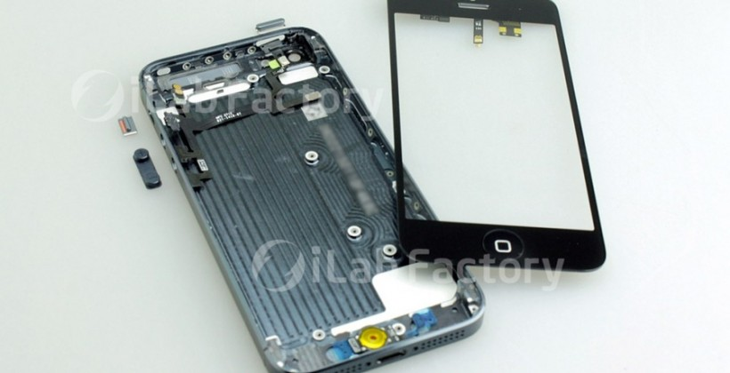 iPhone 5 pictures and parts leaked