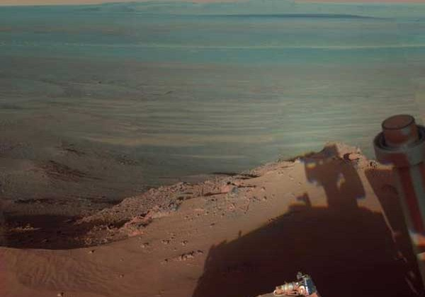 NASA shows off new Mars images