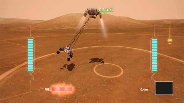 NASA offers free Mars Rover Landing Kinect game for Xbox 360