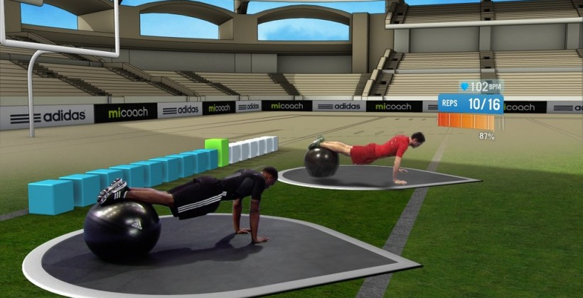 Adidas launches miCoach-integrated video game