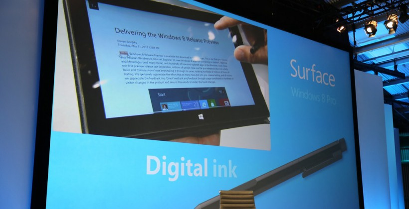 Surface Sleight of Hand: Microsoft's big touch distraction