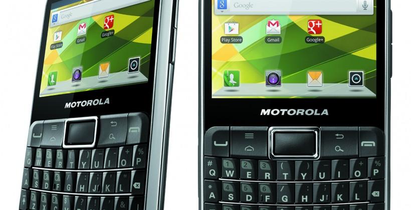 Motorola DEFY PRO targets bored BlackBerry users
