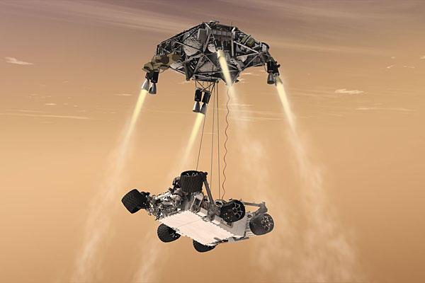 NASA to livestream Curiosity's big Mars landing