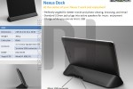 Nexus 7 premium cover and dock details leak