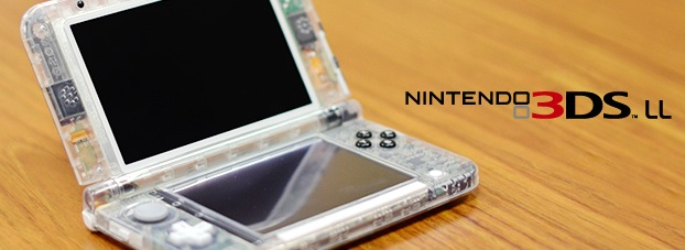 Please Nintendo, let us buy your transparent 3DS XL