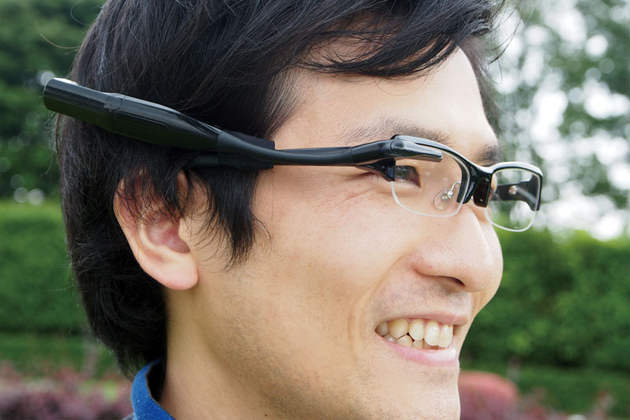 Olympus MEG4.0 Google Glass rival revealed
