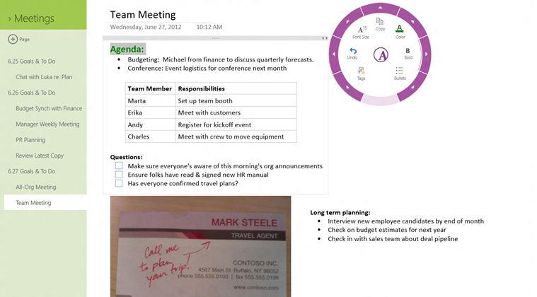 OneNote MX preview hits Windows Store with Metro UI