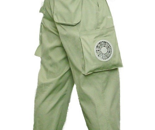 Kuchofuku unveils air-conditioned pants with built-in fans
