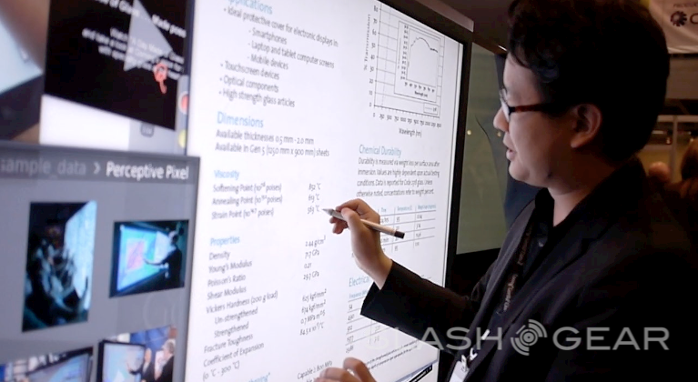 Microsoft buys Perceptive Pixel for pen and multitouch expertise