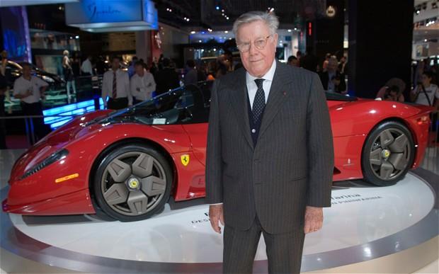 Legendary Ferrari designer Sergio Pininfarina dies