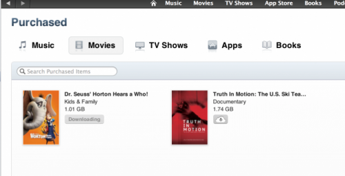 Fox films now available through iTunes in the Cloud