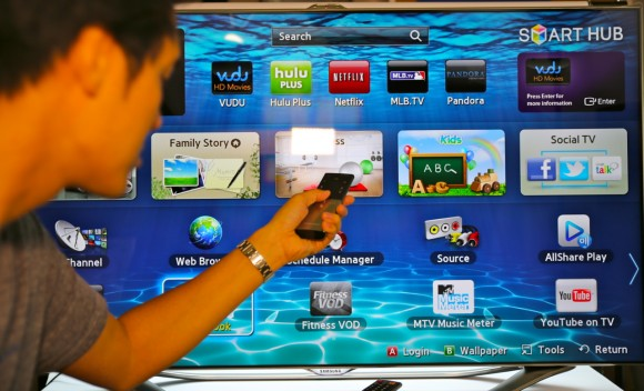 Samsung Smart TV SDK 3.5 exposes voice and gesture recognition