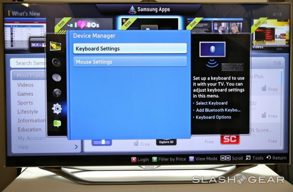 Samsung UN55ES8000 55-inch Smart TV Review - SlashGear