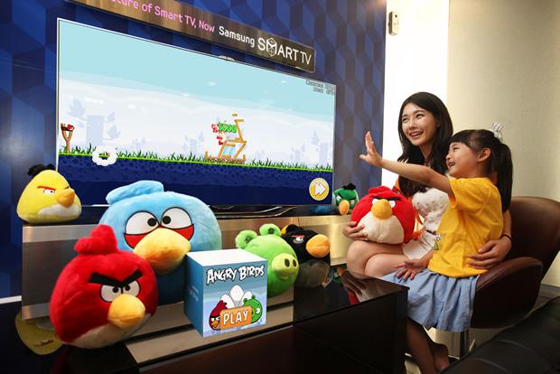 Rovio brings Angry Birds to Samsung's Smart TVs