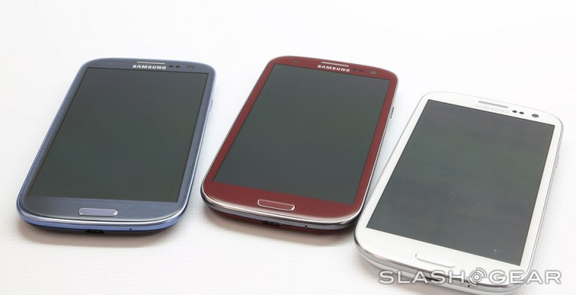 Garnet Red Samsung Galaxy S III Hands-on