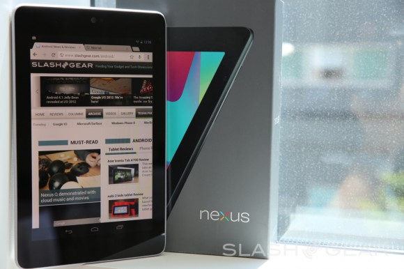 Staples Nexus 7 listing indicates July 12th-17th ship date
