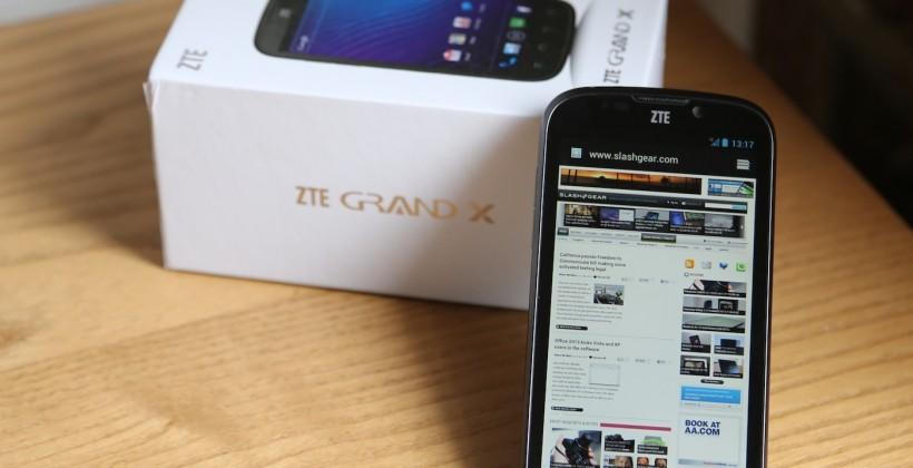 ZTE Grand X hands-on