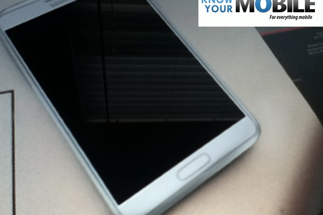 Purported Samsung Galaxy Note II photo leaks