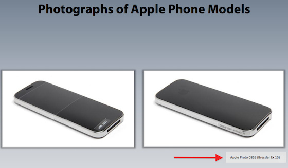 iPhones with curved glass and extruded metal sized up in Samsung trial