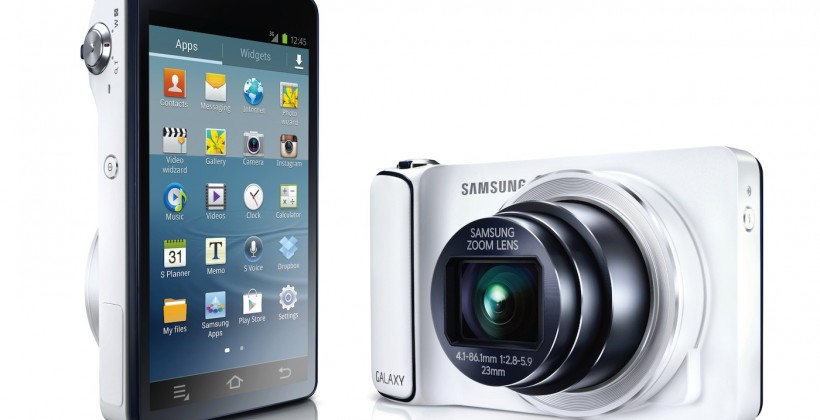 Samsung Galaxy Camera official: Android-powered 16MP point-and-shoot