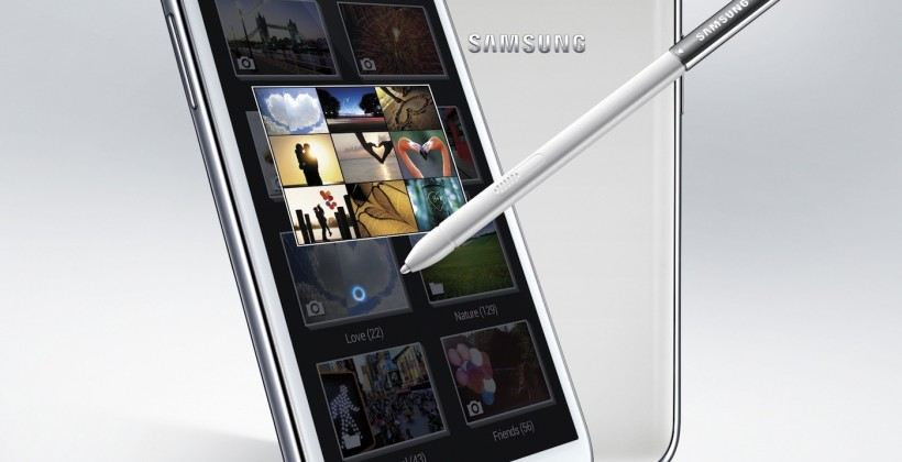 Samsung Galaxy Note II official: 5.5-inch quadcore phablet