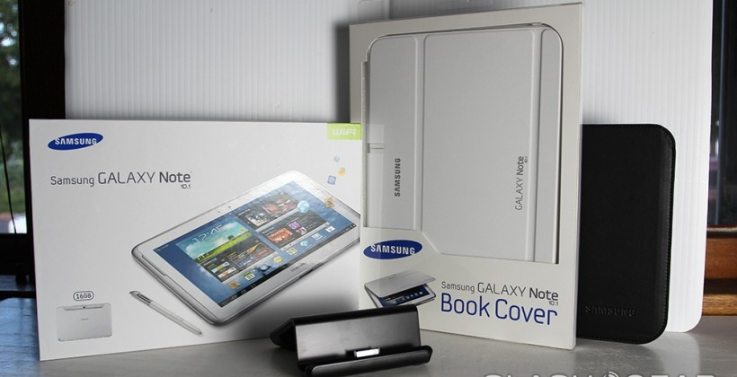Samsung Galaxy Note 10.1 tablet unveiled for USA