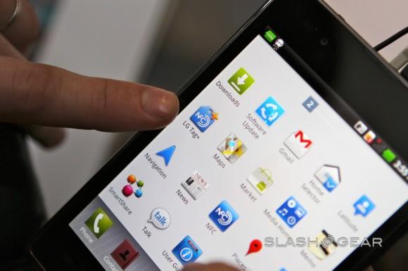 LG Optimus Vu goes international