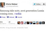 Nokia teases new Lumia, tells Samsung to 'take note'