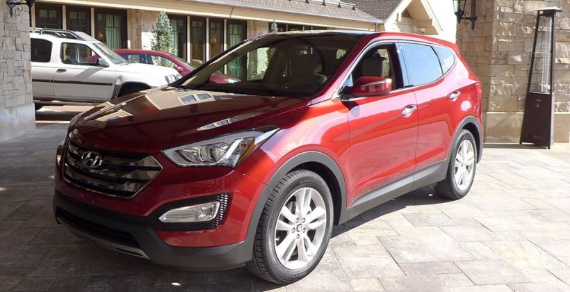 2013 Hyundai Santa Fe Sport first drive