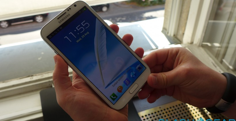 Samsung Galaxy Note II hands-on