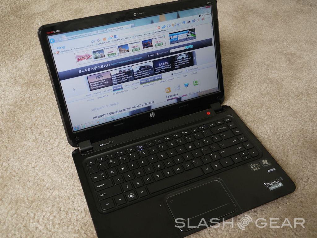 HP Envy 15-1109tx Notebook Quick Launch Buttons Drivers for Windows