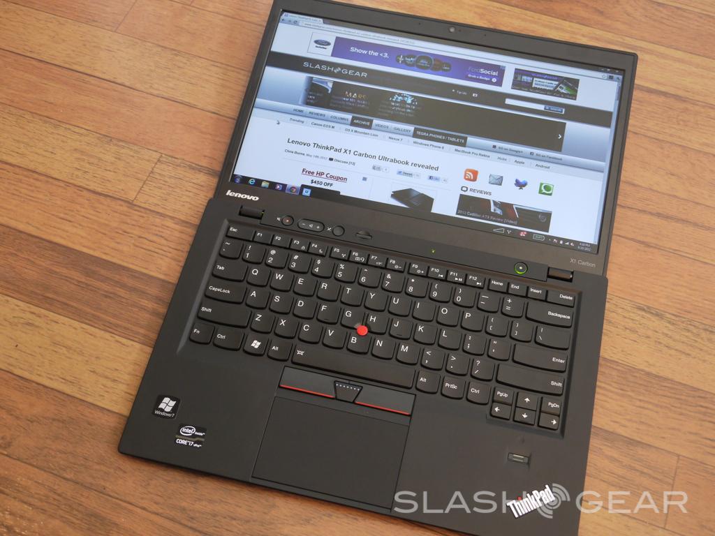 Lenovo ThinkPad X1 Carbon Ultrabook Review - SlashGear