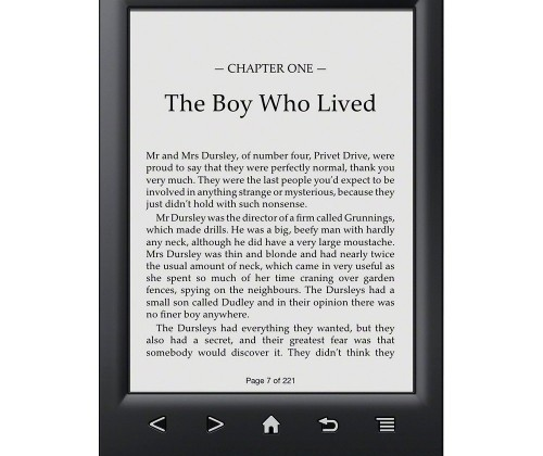 Sony PRS-T2 eReader finally official for $129.99