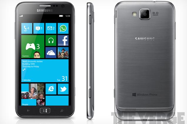 Samsung 4.8-inch ATIV S Windows Phone 8 smartphone leaks