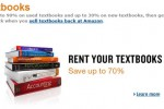 Amazon kicks off textbook rental program for students
