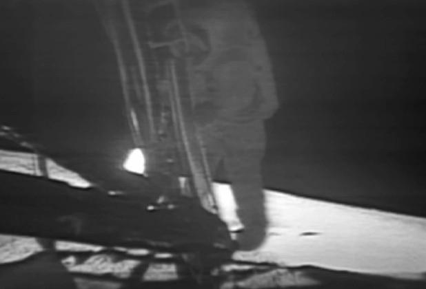 Watch Neil Armstrong's legendary 1969 Moon moment